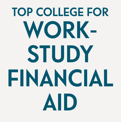 Top college for work-study financial aid