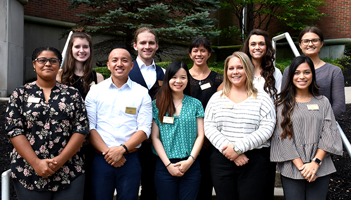 Dietetic interns 2018-19
