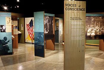 Voices of Conscience exhibit
