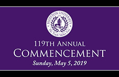 Watch commencement online
