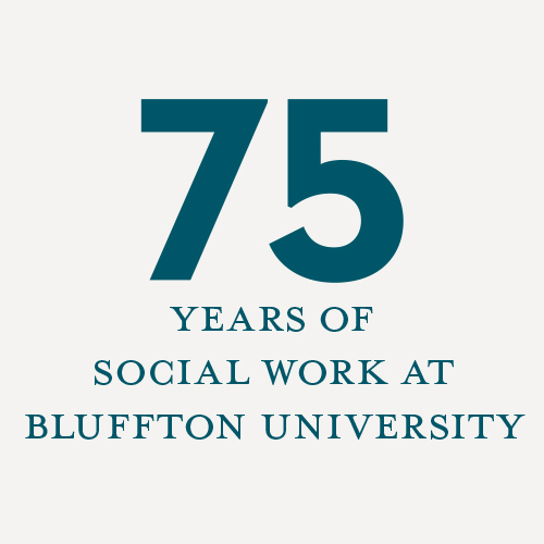 75+ years of social work at Bluffton