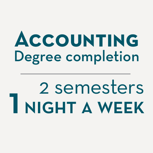 Accounting degree completion