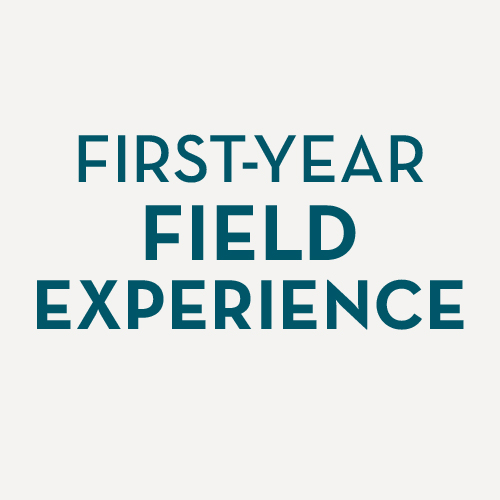 First-year field experience