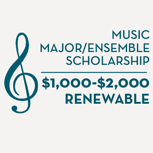 Music major/ensemble scholarships