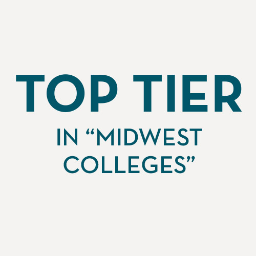 "Top Tier of ""Midwest Colleges"""