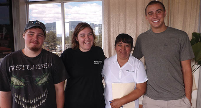 Guatamalan family