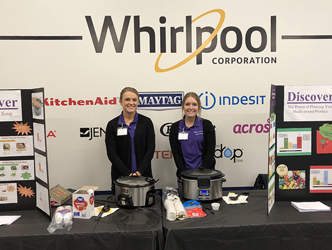 Whirlpool factory nutrition fair