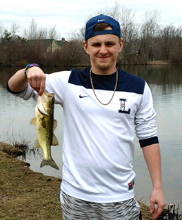 Trent and 16-inch bass