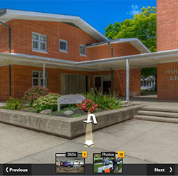 Launch virtual tour of Hirschy & Hirschy Annex