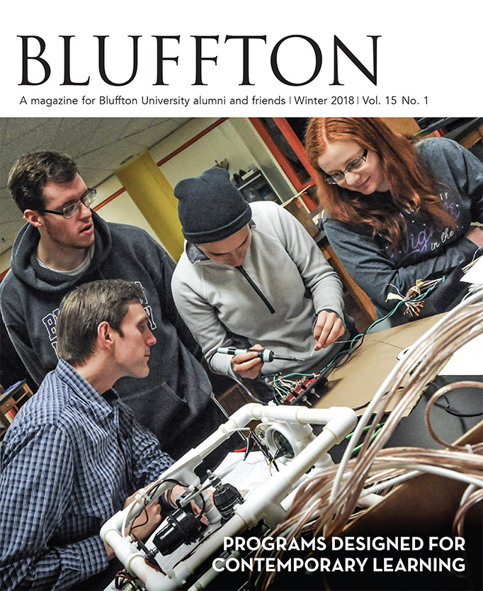 Bluffton magazine, Fall 2017
