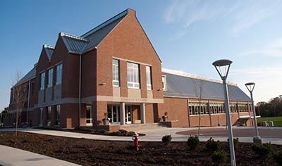 Exterior view of new Sommer Center