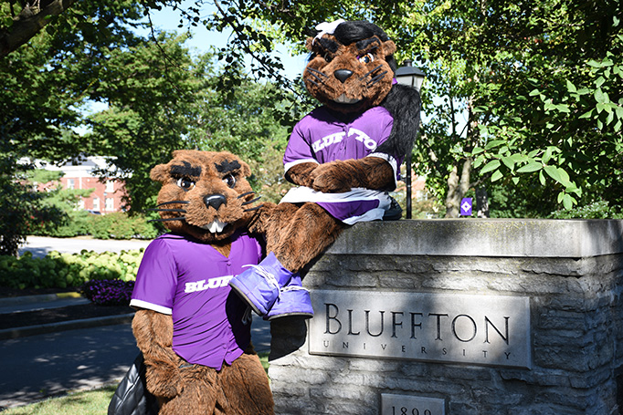Welcome to Bluffton from J. Denny and Jenny Beaver