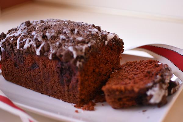 Red Velvet and Dark Chocolate Bread