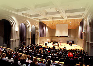Chapel in Yoder Recital Hall
