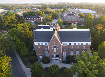 Campus from above