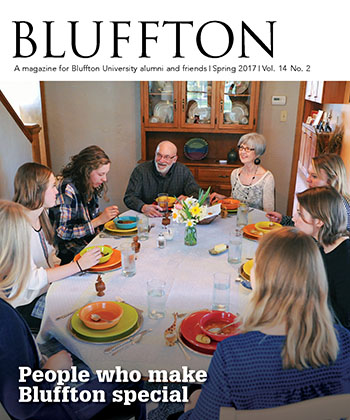 Bluffton magazine, spring 2017