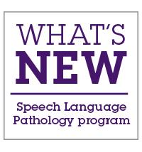 whats new_speech pathology