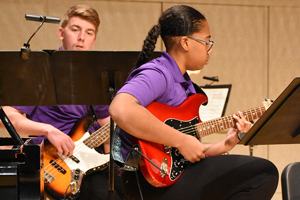 Guitars in the Jazz band, 2018