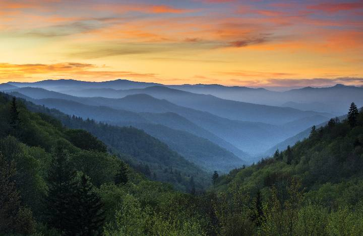 The Great Smoky Mountains will be the location for the first-year student experience.