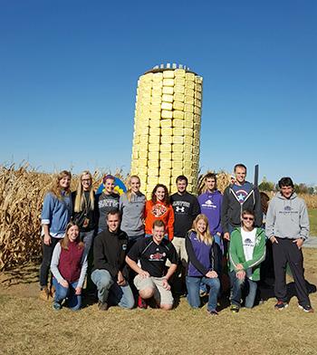 FCA corn maze