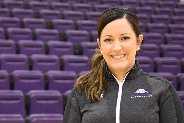 Cheerleading coach Morgann Rode grew up in the cheer/STUNT community.