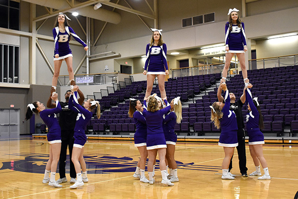 Tryouts for the 2019-20 cheer/STUNT team will be April 6.