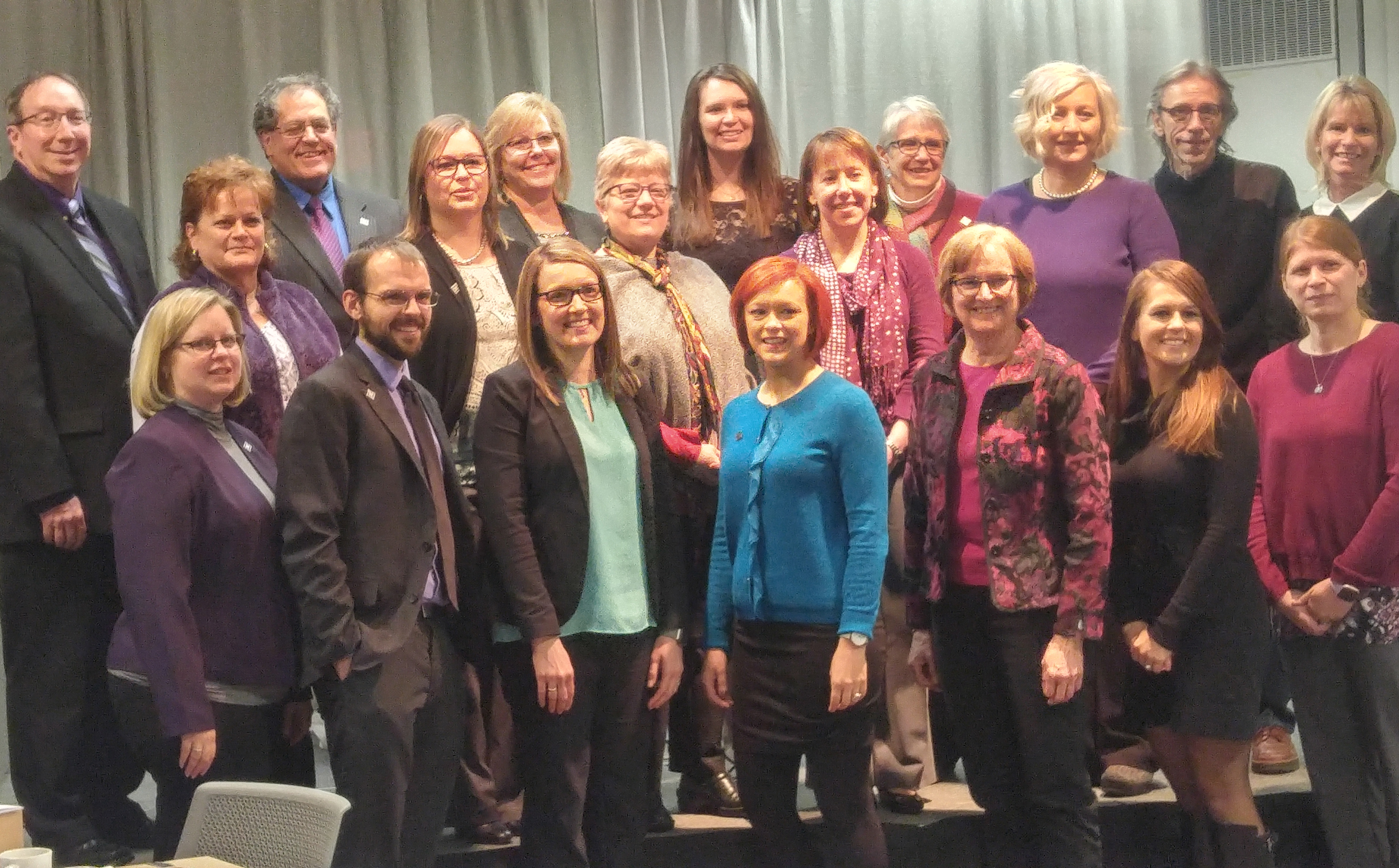 Long-term Bluffton University employees