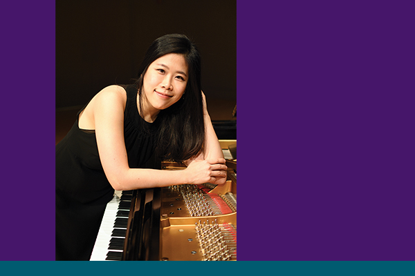 Dr. Da Eun Choi, staff accompanist and piano instructor
