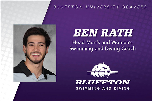 Swimming and Diving Head Coach Ben Rath