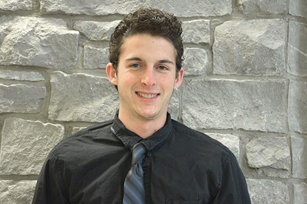Kirk Kauder, recipient of the Beaver-Falcome MAcc scholarship