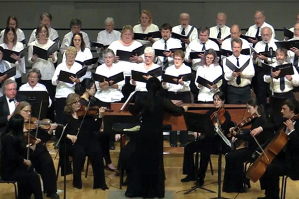 """Messiah"" rehearsals begin at Bluffton University"