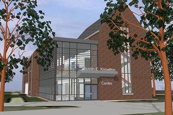 Knowlton Science Center renderings