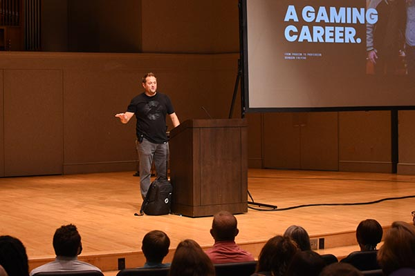 Brandon Freytag '08 inspires Bluffton students to turn their passion into a profession.