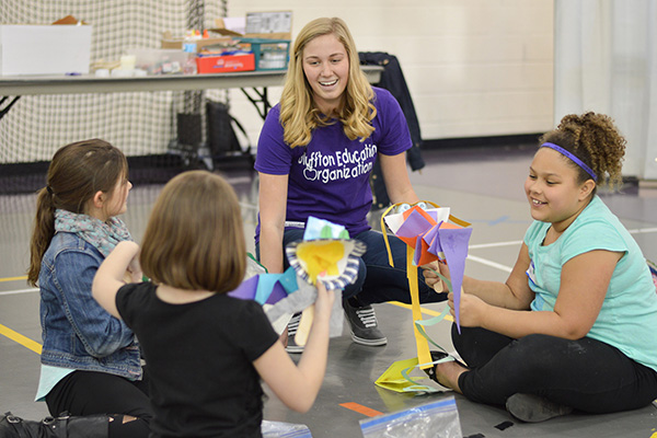 Future teachers invited to explore education as a major during Bluffton University event