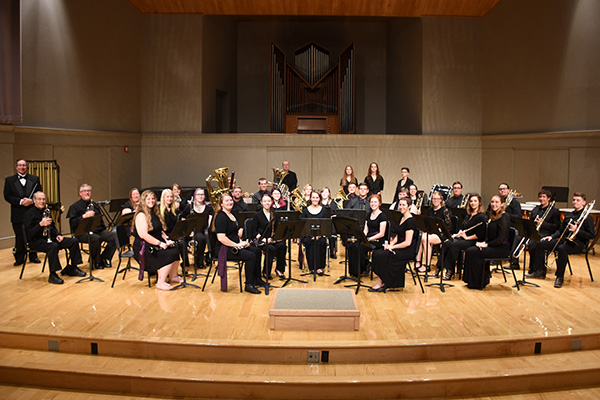Instrumental concert at Bluffton University