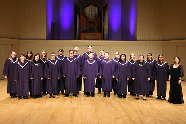 Fall choral concert at Bluffton University