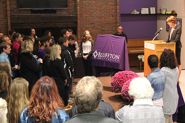 Dr. Jane Wood announces lead corporate gift for Nutrition and Dietetics Lab
