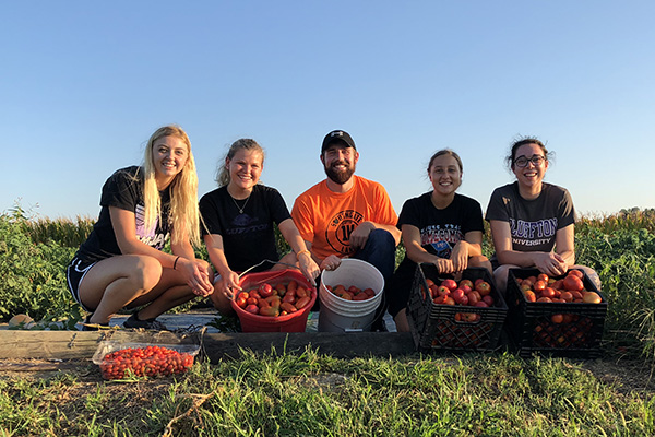 What started as a spaghetti dinner fundraiser organized by Bluffton University nutrition and dietetics students 16 years ago has evolved into a farm-to-table feast featuring local produce and homemade fare.