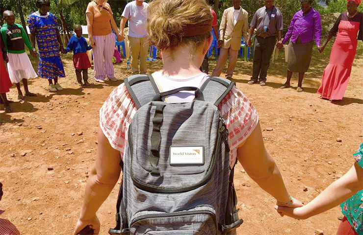 Holly Metzger spent 12 days in Kenya with World Vision.