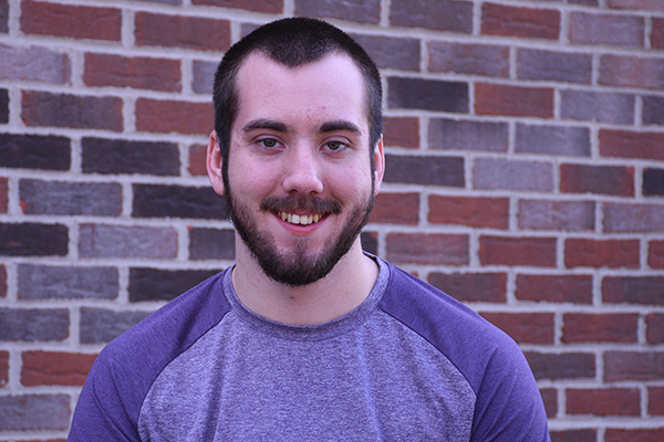 Adam Shanaman, a Bible and theology major and theatre minor, embraced the challenges of theatre performances via Zoom.