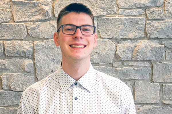 Riley Larcom's career path was confirmed during an accounting internship at Mennonite Memorial Home.