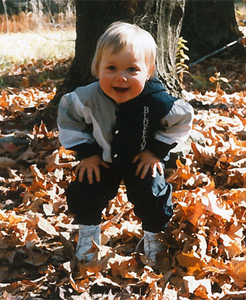 Tessa Short at 18 months old