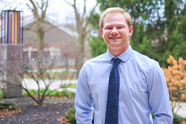 Jake Latkofsky will enter the Doctor of Physical Therapy program at Mount Saint Joseph College.