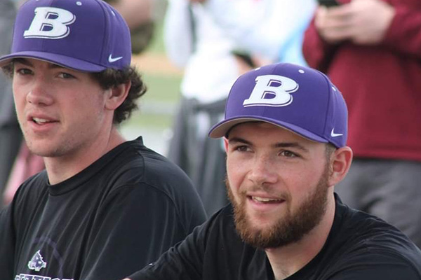 Brothers and teammates Brantley and Carson Curnutte