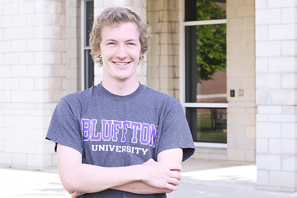 Nicholas Hoffman '20 to continue as Neufeld Residence Hall Director in 2020-21.