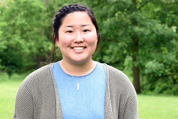 Caroline Schutz, admissions intern
