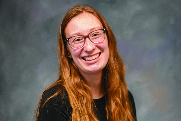 Intervention Specialist and P-5 Education major Carina DiMarco