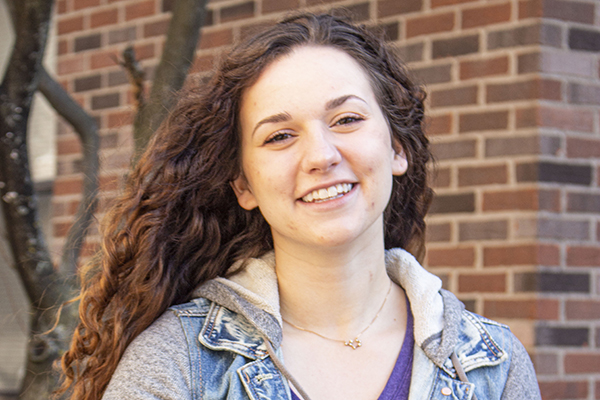 Kori Frey is ready for her social work field placement at Hope House in Findlay, Ohio.